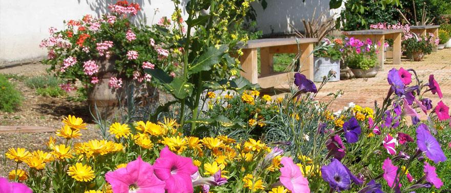 posezení v KYBY zahradě